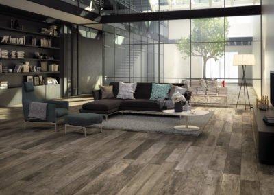 Fliesen Holzlook Wohnzimmer Mirage Noon Living