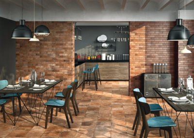Fliesenhandel Strobl - Küche - NOVABELL_Materia-Rosso