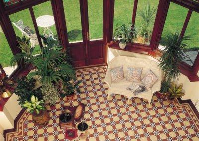 Mosaikfliesen Original Style - VFT - Inverlochy pattern with Byron border
