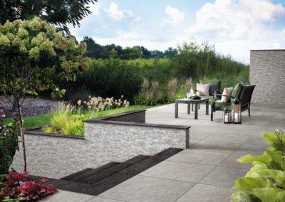 Terrasse gestalten mit Mirage_Belgard_Evo2E_Quarziti_2.0_Esterno_Patio